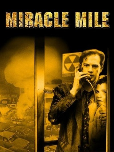 Poster for the 1988 movie MIRACLE MILE.
